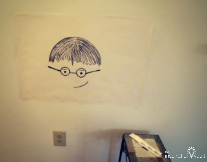 Harry Potter Themed Birthday Pin the Lightning on Harry Game
