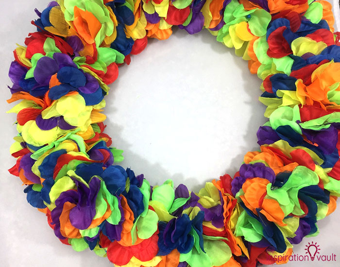 Hawaiian Lei Wreath Complete