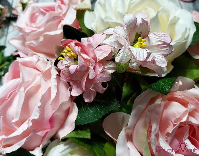 Spring Picket Fence Floral Arrangement Step 7