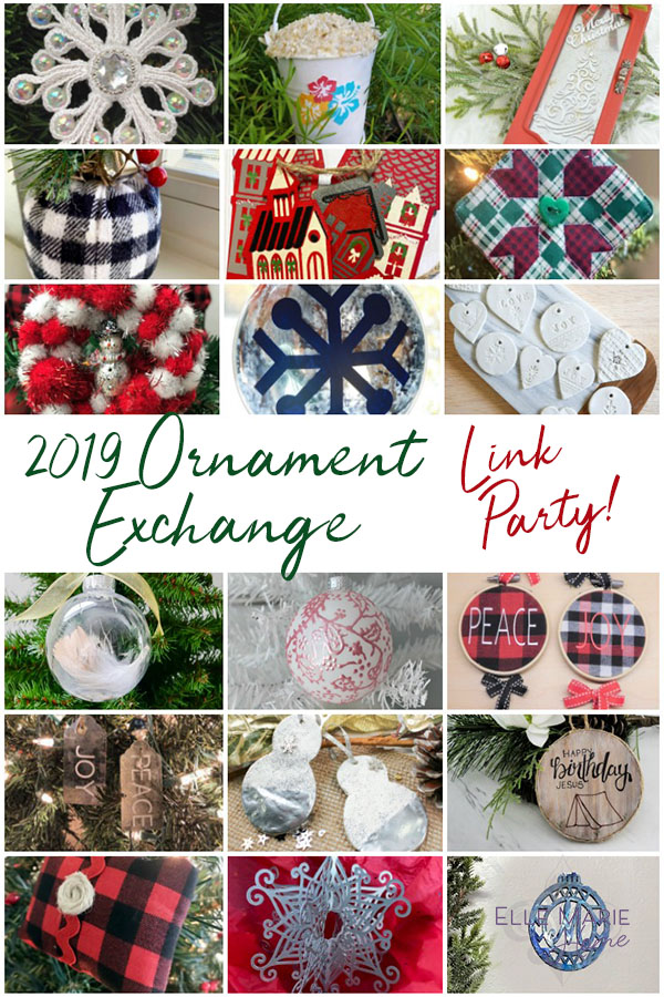 2019 Ornament Exchange Link Party Handmade DIY Christmas Craft Tutorials