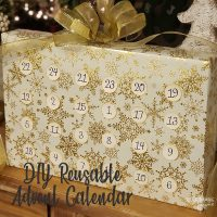 DIY Reusable Advent Calendar Feature