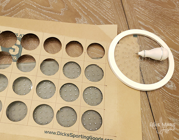 DIY Reusable Advent Calendar Step 3b