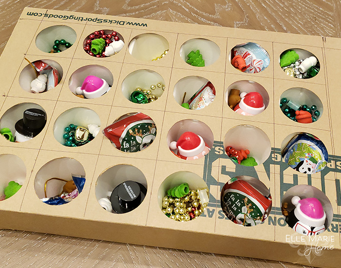 DIY Reusable Advent Calendar Step 5