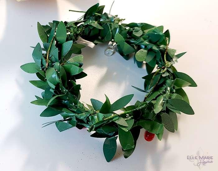 Mini Tobacco Basket Christmas Ornaments Step 5a