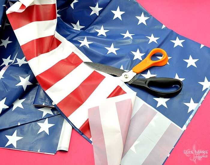 American Flag Wreath Step 4a
