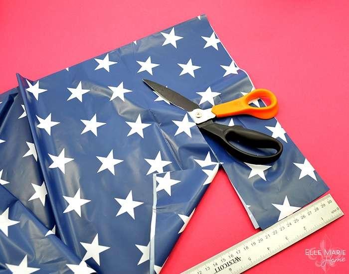 American Flag Wreath Step 4b
