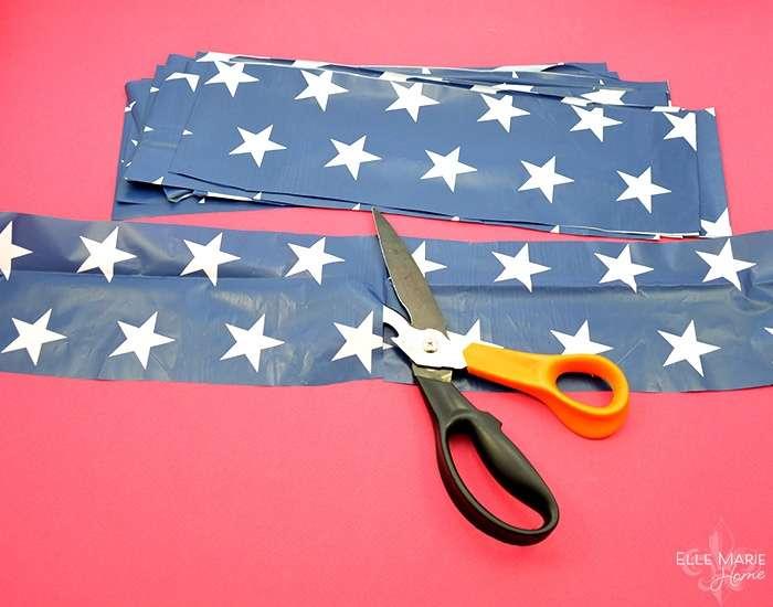 American Flag Wreath Step 5b
