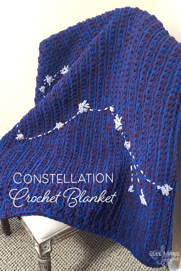 Constellation Crochet Blanket Crochet Pattern Craft