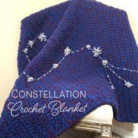 Constellation Crochet Blanket Feature Image
