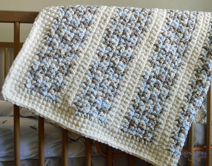 Quick & Easy Crochet Baby Blanket Complete