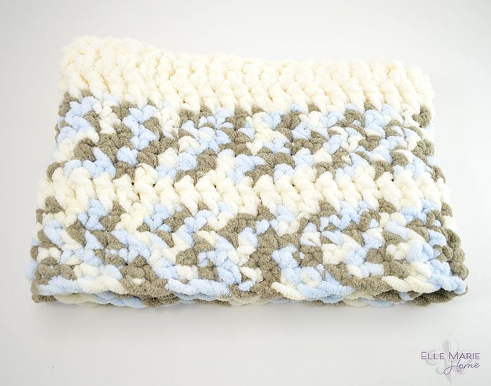 Quick & Easy Crochet Baby Blanket Step 7
