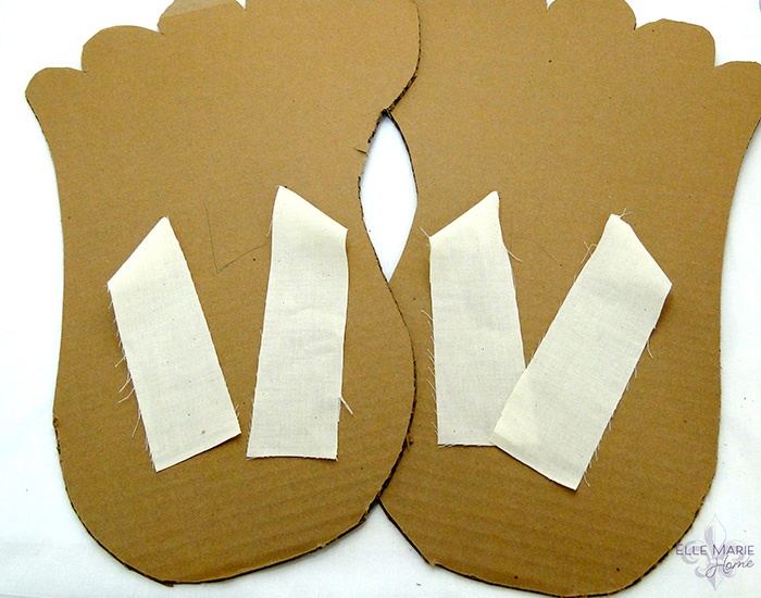Bigfoot Cardboard Feet Step 5