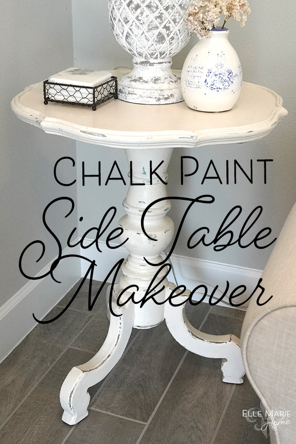 Chalk Paint Side Table Makeover DIY Furniture and Decor Tutorial Using Annie Sloan Chalk Paint 2