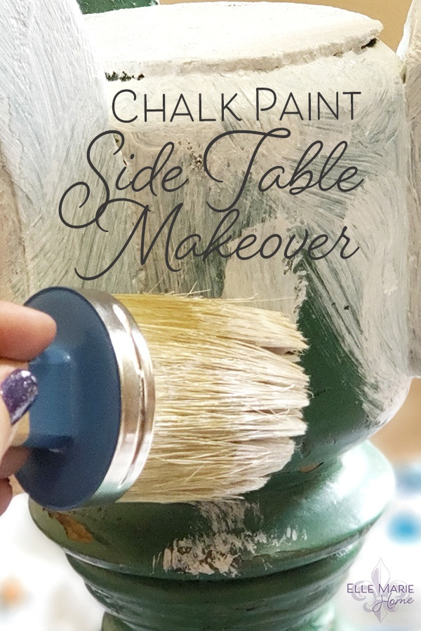 Chalk Paint Side Table Makeover DIY Furniture and Decor Tutorial Using Annie Sloan Chalk Paint 3