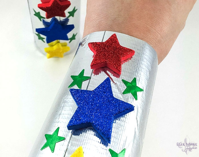 Paper Tube Superhero Cuffs Complete